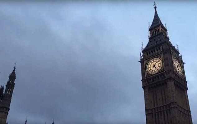 Summer study abroad programs at London College of Communication: summer classes in filmmaking - Image of video still showing London's clocktower Big Ben